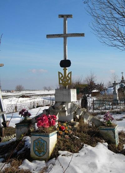 Братська могила січових стрільців розстріляних в Берестечку