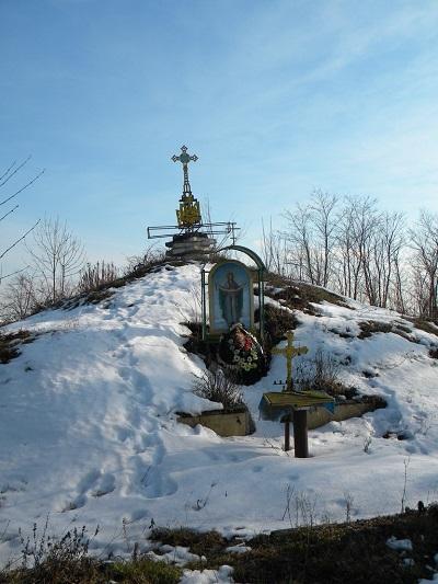 Курган братська могила вояків УПА